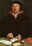 Hans Holbein Portrait of Dirck Tybis oil painting picture wholesale
