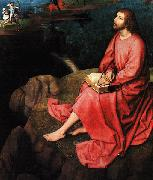 Hans Memling Triptych of St.John the Baptist and St.John the Evangelist  ff oil painting picture wholesale