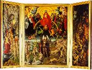 Hans Memling The Last Judgment Triptych oil painting picture wholesale