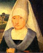 Hans Memling Portrait of an Old Woman oil painting picture wholesale