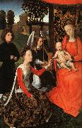 Hans Memling The Marriage of St.Catherine oil painting picture wholesale