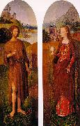 Hans Memling Outer Wings of a Triptych oil painting picture wholesale