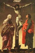 Hendrick Terbrugghen The Crucifixion with the Virgin and St.John oil painting artist