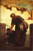 Honore  Daumier The Laundress oil painting picture wholesale