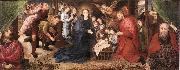 Hugo van der Goes Adoration of the Shepherds oil painting picture wholesale