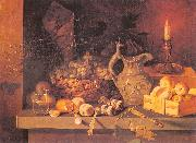 Ivan Khrutsky Still Life with a Candle oil painting picture wholesale