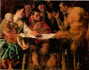 JORDAENS, Jacob St Charles Cares for the Plague Victims of Milan s oil painting artist