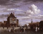 Jacob van Ruisdael The Dam Square in Amsterdam oil painting picture wholesale