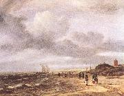 Jacob van Ruisdael The Shore at Egmond-an-Zee oil painting picture wholesale