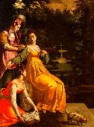 Jacopo da Empoli Susanna and the Elders oil painting picture wholesale