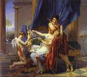Jacques-Louis David Sappho and Phaon oil painting artist