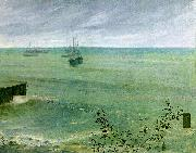 James Abbott McNeil Whistler Symphony in Grey and Green oil painting picture wholesale