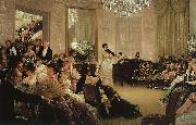 James Tissot Hush oil painting picture wholesale