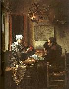Jan Steen Grace Before a Meal oil painting picture wholesale