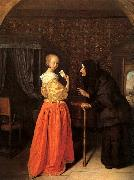 Jan Steen Bathsheba Receiving David's Letter oil painting artist