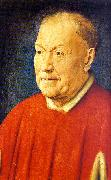 Jan Van Eyck Portrait of Cardinal Niccolo Albergati oil painting picture wholesale