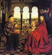 Jan Van Eyck The Virgin of Chancellor Rolin oil painting picture wholesale