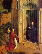 Jan Van Eyck The Annunciation  6 oil painting picture wholesale