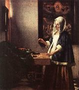 Jan Vermeer Woman Holding a Balance oil painting picture wholesale