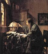 Jan Vermeer The Astronomer oil painting picture wholesale