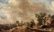 Jan van Goyen Haymaking oil painting picture wholesale