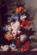 Jan van Huysum Still Life of Flowers in a Vase on a Marble Ledge oil painting picture wholesale