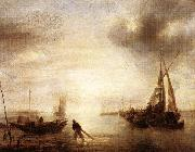 Jan van de Capelle Calm oil painting picture wholesale