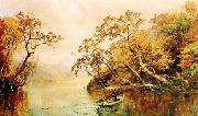 Jasper Cropsey Seclusion oil painting artist
