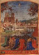 Jean Fouquet Descent of the Holy Ghost upon the Faithful oil painting picture wholesale
