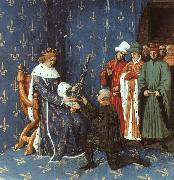 Jean Fouquet Bertrand with the Sword of the Constable of France oil painting picture wholesale