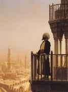 Jean Leon Gerome The Call to Prayer oil painting picture wholesale