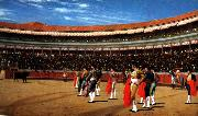 Jean Leon Gerome Plaza de Toros  : The Entry of the Bull oil painting picture wholesale