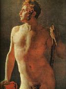 Jean-Auguste Dominique Ingres Male Torso oil painting picture wholesale