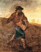 Jean-Franc Millet The sower oil painting artist