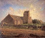 Jean-Franc Millet The Church of Greville oil painting picture wholesale