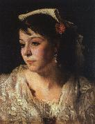 John Singer Sargent Head of an Italian Woman oil painting picture wholesale