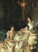 John Singer Sargent The Wyndham Sisters oil painting picture wholesale