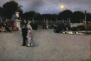 John Singer Sargent In the Luxembourg Gardens oil painting picture wholesale