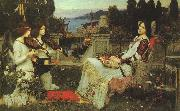 John William Waterhouse St.Cecilia oil painting picture wholesale