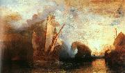 Joseph Mallord William Turner Ulysses Deriding Polyphemus oil painting picture wholesale