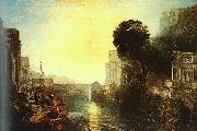 Joseph Mallord William Turner Dido Building Carthage oil painting artist