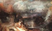 Joseph Mallord William Turner Hero and Leander oil painting artist