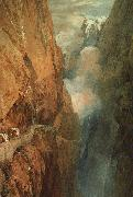 Joseph Mallord William Turner The Passage of the St.Gothard oil painting artist