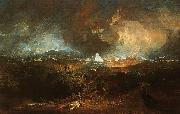 Joseph Mallord William Turner The Fifth Plague of Egypt oil painting artist