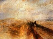 Joseph Mallord William Turner Rain, Steam and Speed The Great Western Railway oil painting artist