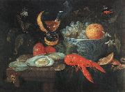 KESSEL, Jan van Still Life with Fruit and Shellfish szh oil painting picture wholesale
