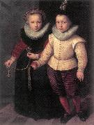 KETEL, Cornelis Double Portrait of a Brother and Sister sg oil painting picture wholesale