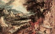 KEUNINCK, Kerstiaen Landscape with Acteon and Diana ag oil painting picture wholesale