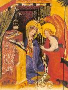 Konrad of Soest Annunciation oil painting artist