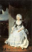 LAWRENCE, Sir Thomas Queen Charlotte sg oil painting artist